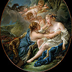 François Boucher – Jupiter, in the Guise of Diana, and Callisto, Metropolitan Museum: part 2