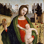 Bramantino ca. 1465–1530 Milan) – Madonna and Child, Metropolitan Museum: part 2