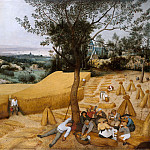 Metropolitan Museum: part 2 - Pieter Bruegel the Elder ca. 1525–1569 Brussels) - The Harvesters