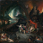 Jan Brueghel the Younger – Aeneas and the Sibyl in the Underworld, Metropolitan Museum: part 2