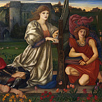 Sir Edward Burne-Jones – The Love Song, Metropolitan Museum: part 2