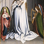 Copy after Robert Campin – Virgin and Child in an Apse, Metropolitan Museum: part 2