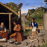 Metropolitan Museum: part 2 - Catena (Italian, Venetian, active by 1506–died 1531) - The Adoration of the Shepherds