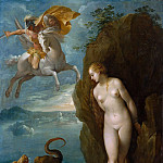 Metropolitan Museum: part 2 - Attributed to Bernardino Cesari - Perseus and Andromeda