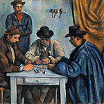 Paul Cézanne – The Card Players, Metropolitan Museum: part 2