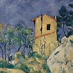 Paul Cézanne – The House with the Cracked Walls, Metropolitan Museum: part 2