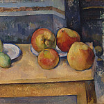 Still Life with Apples and Pears, Paul Cezanne