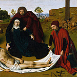 Metropolitan Museum: part 2 - Petrus Christus - The Lamentation