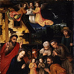 Metropolitan Museum: part 2 - Marcellus Coffermans - The Adoration of the Shepherds