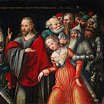 Lucas Cranach the Younger and Workshop – Christ and the Adulteress, Metropolitan Museum: part 2