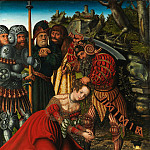 Metropolitan Museum: part 2 - Lucas Cranach the Elder - The Martyrdom of Saint Barbara