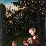 Lucas Cranach the Elder – Samson and Delilah, Metropolitan Museum: part 2
