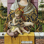 Madonna and Child, Carlo Crivelli