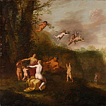 Abraham van Cuylenborch – Bacchus and Nymphs in a Landscape, Metropolitan Museum: part 2