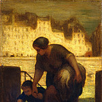 Honoré Daumier – The Laundress, Metropolitan Museum: part 2