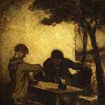 Metropolitan Museum: part 2 - Honoré Daumier - The Drinkers