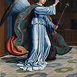 Gerard David – The Annunciation, Metropolitan Museum: part 2
