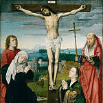 Gerard David – The Crucifixion, Metropolitan Museum: part 2