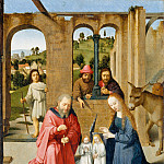 Gerard David – The Nativity, Metropolitan Museum: part 2