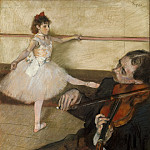Metropolitan Museum: part 2 - Edgar Degas - The Dance Lesson