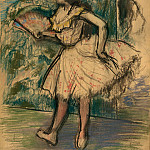 Dancer with a Fan, Edgar Degas