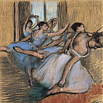The Dancers, Edgar Degas