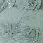 Edgar Degas – Two Dancers, Metropolitan Museum: part 2