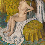 Metropolitan Museum: part 2 - Edgar Degas - Woman Having Her Hair Combed
