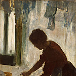 A Woman Ironing, Edgar Degas