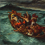 Metropolitan Museum: part 2 - Eugène Delacroix - Christ Asleep during the Tempest