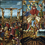 Metropolitan Museum: part 2 - Jan van Eyck and Workshop Assistant - The Crucifixion; The Last Judgment