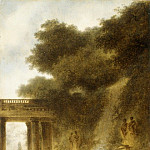Jean Honoré Fragonard – The Cascade, Metropolitan Museum: part 2