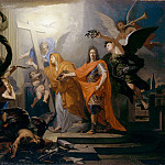 Metropolitan Museum: part 2 - Antoine Rivalz - An Allegory, Probably of the Peace of Utrecht of 1713