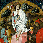 Metropolitan Museum: part 2 - Spanish Painter, mid-15th century - The Resurrection