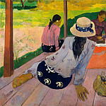 Paul Gauguin – The Siesta, Metropolitan Museum: part 2