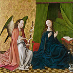 Metropolitan Museum: part 2 - South German Painter, mid-15th century - The Annunciation