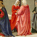 Davide Ghirlandaio – The Marriage of the Virgin, Metropolitan Museum: part 2