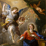 Luca Giordano – The Annunciation, Metropolitan Museum: part 2