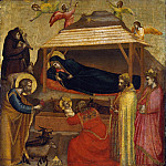 Giotto di Bondone – The Epiphany, Metropolitan Museum: part 2