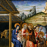 Metropolitan Museum: part 2 - Giovanni di Paolo (Italian, Siena 1398–1482 Siena) - The Adoration of the Magi