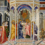 Metropolitan Museum: part 2 - Giovanni di Paolo (Italian, Siena 1398–1482 Siena) - The Presentation of Christ in the Temple