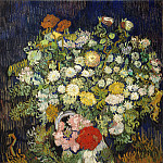 Vincent van Gogh – Bouquet of Flowers in a Vase, Metropolitan Museum: part 2