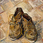 Vincent van Gogh – Shoes, Metropolitan Museum: part 2