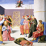 Benozzo Gozzoli – Saint Peter and Simon Magus, Metropolitan Museum: part 2