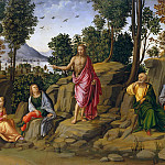 Metropolitan Museum: part 2 - Workshop of Francesco Granacci - Saint John the Baptist Bearing Witness