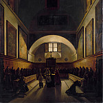Metropolitan Museum: part 2 - François-Marius Granet - The Choir of the Capuchin Church in Rome