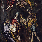 El Greco – The Adoration of the Shepherds, Metropolitan Museum: part 2