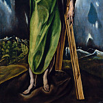 Metropolitan Museum: part 2 - Workshop of El Greco - Saint Andrew