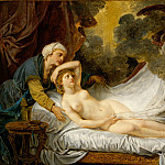 Jean Baptiste Greuze – Aegina Visited by Jupiter, Metropolitan Museum: part 2