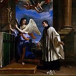 Metropolitan Museum: part 2 - Guercino (Italian, Cento 1591–1666 Bologna) - The Vocation of Saint Aloysius (Luigi) Gonzaga